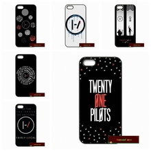 \Hot Twenty One Pilots Phone Cases Cover For iPhone 4 4S 5 5S 5C SE 6 6S 7 Plus 4.7 5.5
