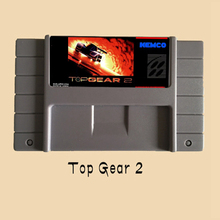 Top Gear 2 USA Version 16 bit Big Gray Game Card For NTSC/ PAL Game Players(China)