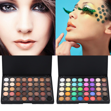 New Makeup Palette 40 Colors Eyeshadow Eye Primer Glitter Eye shadow Matte Naked Palette Makeup Cosmetics Professional