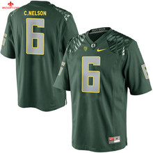 Nike 2017 Oregon Ducks NELSON 6 Can Customized Any Name Any Logo Limited Boxing Jersey Alex Balducci 56(China)