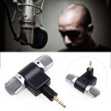 1x Mini 3.5mm Microphone Stereo Mic Professional Stereo Microphone For Recording Mobile Phone Studio For Laptop Microphone