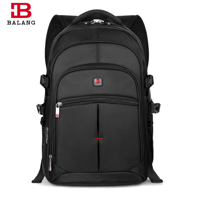 BALANG Business Laptop Men Backpack Notebook Unisex Trendy Backpack Fashion School Bags for Teenagers Boys Girls Travel  Bags<br>