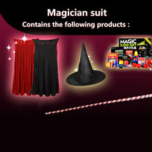 Magic Trick Set kit Magic Play Professional Magie Prop Children Classic Toy Magic Gift Puzzle Toy Magic Prop(China)