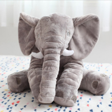 60cm Elephant Soft Plush Toy Animals Dolls for Kids Christmas Gifts baby Appease Sleep pillow(China)
