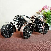 Creative screw motorcycle model adornment handicrafts gift metal craft scooter car model home decorative ornament