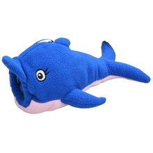 ABWE Best Sale Baby Animal Holder Storage Bag Pouch Cover for Milk Bottle(Blue Dolphin)(China)