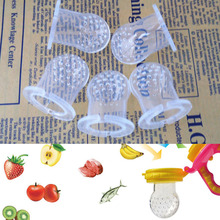 Silicone safe supplies feeder soft bell chew soother infant pacificer teeth training newborn Fresh food milk Baby Care(China)