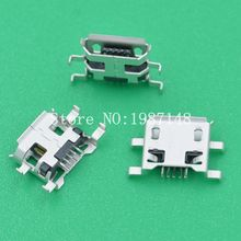 10Pcs S42 Micro USB 5pin 0.72MM Heavy Plate B Type Female Socket Connector For Mobile Phone Charging Socket Sell At A Loss USA