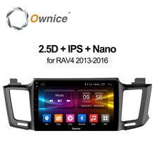 Ownice C500+ Android 6.0 10.1 Inch Car Multimedia DVD Player For toyota RAV4 2013~2016 Octa Core GPS Navigation 32G ROM 4G LTE(China)