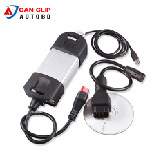 Newest V155 for Renault Can Clip Full Chip OBD2 Diagnostic Tool for Renault Can Clip Scanner With Multi-Languages Can Clip