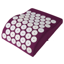Massage Cushion Acupressure mat Relieve Stress Pain Acupuncture Pillow Spike Yoga Neck Head Pain Stress Relief Pillow(China)