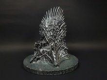 "6.7"" Iron Throne Game Of Thrones A Song Of Ice And Fire Action Figure Sword Chair Model Toys"