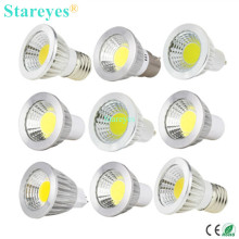 1 piece Dimmable 3W 5W GU10 B22 E14 GU5.3 MR16 LED COB Spotlight led downlight Bulb droplight light led lamp led Light lighting(China)