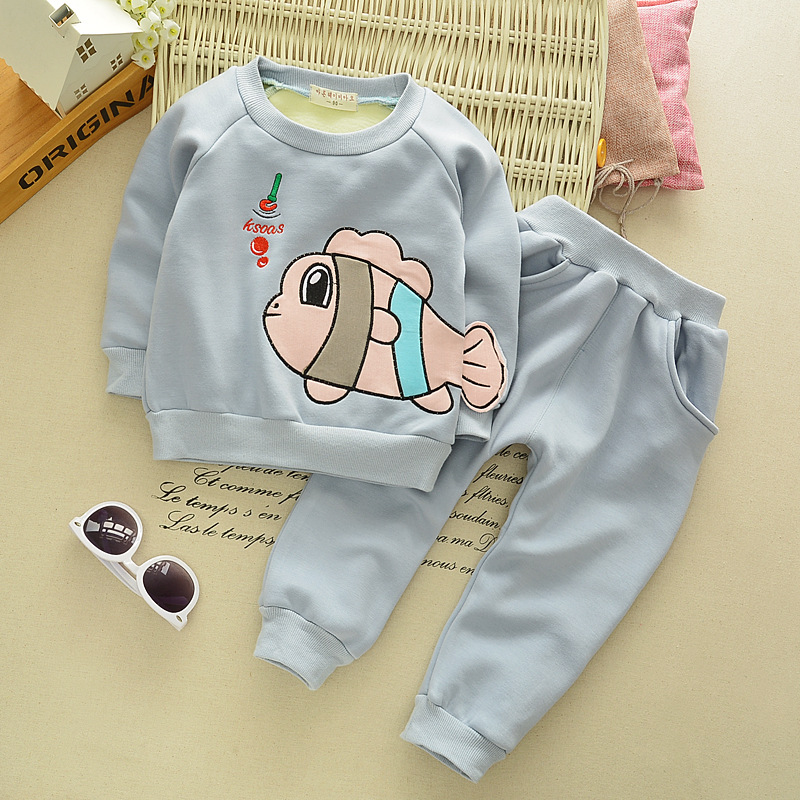 2017 Spring And Autumn Casual Childrens Sets Two Pieces Baby Boys Cute Coats Warm Trouser Suits<br><br>Aliexpress