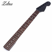 Maple 22 Fret Rosewood Black Electric Guitar Neck Special Offer Electric Guitar Neck For Guitarra Parts Accessories Replacement(China)
