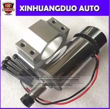 Best ! air cooled 300W DC Spindle Motor 12-48V DC ER11 collect + 52mm Mount bracket fixture for PCB CNC Mahine