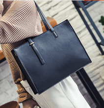 Women's vintage handbag briefcase female fashionable casual shoulder bag messenger shoulder bag black/gray qingfj8(China)