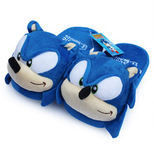 28CM Winter Adult Cartoon Cute Sonic The Hedgehog Plush Indoor toy House Couples Home toy Free Shipping(China)