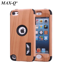 New Hybrid plastic Case MAX-Q High Impact Heavy Duty Hard Rugged silicon Case Cover For Apple ipod Touch 5 5G 5th Generation Gen(China)