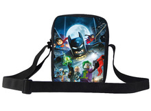 Cool Kids Messenger Bags Children Batman Shoulder Bags SuperMan Hero Baby Girl Cartoon Messenger Bag For Boy Child