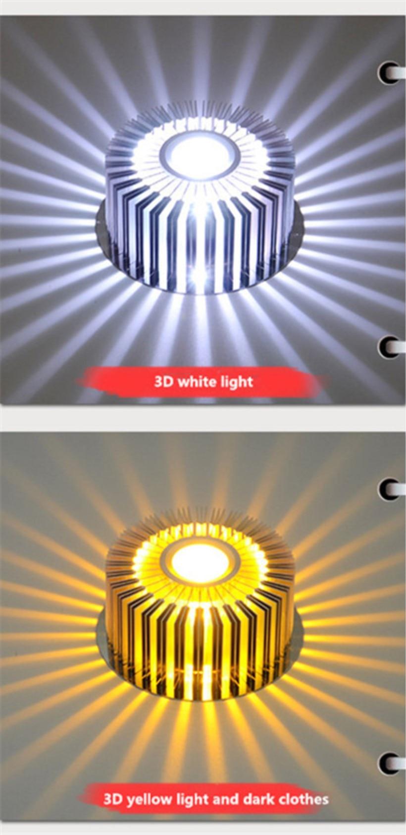 LED Crystal Aisle Celling Light (5)