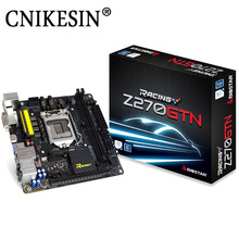 CNIKESIN New Racing Motherboard Z270GTN 1151 Z270 ITX Motherboard DDR4 Support I3 I5 I7 7500 7700K Computer Assembly Parts(China)