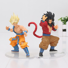 2pcs/set Dragon ball Z Kai GT Figure Toy Styling Figurine Super Saiyan 4 Goku Gokou PVC Action Figure Model Collection Toys