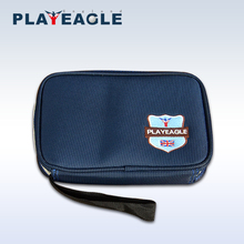 PLAYEAGLE Blue Nylon Golf Handbag Lightweight Golf Pouch for Golf Tee/Towel/Ball Large Wallet Protable Golf Cart Bag Accessories