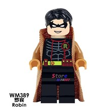 1PCS model building blocks action figures starwars superheroes Robin Collection Series diy hobby kids diy toys for children gift(China)