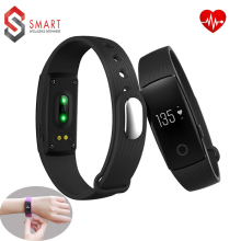 New Original Fashion ID107 Bluetooth Smart Watch With Heart Rate Monitor Pedometer Remote Camera Function Waterproof Wristband