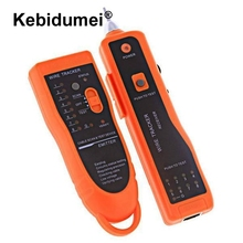 kebidumei 5pcs Network Cable Tester RJ45 RJ11 RJ12 CAT5 UTP LAN Cable Tester Professional Networking Tool Detector Line Finder(China)