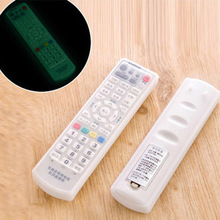 Home Use Silicone TV Remote Control Cover Air Condition Control Case Waterproof Dust Protective Storage Bag Organizer(China)