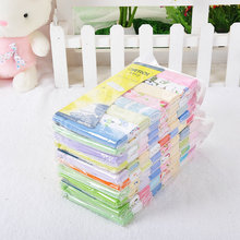 2017 Bedding Set Toalha De Banho 8pcs/ Pack Washcloths Baby Towel 100% Newborn Cotton Bath Waste-absorbing Soft And Comfortable(China)