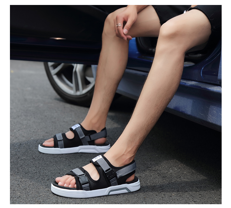 YRRFUOT Summer Big Size Fashion Men's Sandals Outdoor Hot Sale Trend Man Beach Shoes High Quality Non-slip Adult Flats Shoes 46 37 Online shopping Bangladesh