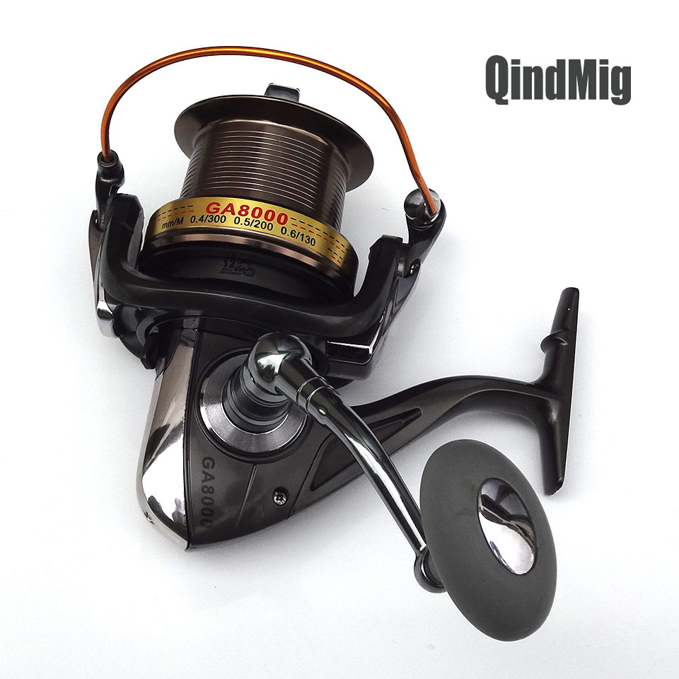 Fishing Spinning Reel 8000 9000 10000 11000 12+1BB Gear Ratio 4.6:1 High-Profile Upscale Boutique Spinning Reel Fishing Reels<br>