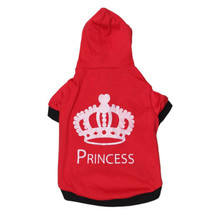 Fashion Princess Dog T-shirt Chihuahua Pug Dog Clothes Summer Hoody Shirt for Dog Coat Small Pet Vest Poodle Yorkshire Clothing