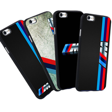 Luxury Mobile Phone Case For iPhone 5 S 5S SE 6 6S 7 Plus BMW Case M3 M5 Series Logo Black Silicone Soft Case Cover