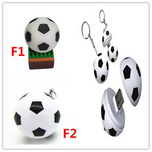 New soccer pen drive creative personality Football USB 2.0 Flash Memory Stick 2G 4G 8G 16G 32G usb flash drive U Disk Pendrive