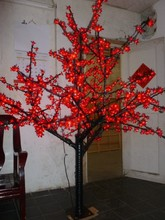 Free ship waterproof Outdoor 5ft 1.5m LED Cherry Blossom Tree Christmas holiday New year Tree 672 LEDs Home Night Light