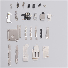1 Set for iPhone 6 4.7 100% Brand New Inner Accessories Inside Small Metal Parts Holder Bracket Shield Plate Set Kit 24Pcs
