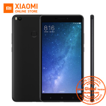 "Global Version Xiaomi Mi Max 2 Max S Mobile Phone 4GB RAM 64GB ROM 5300mAh 6.44"" Snapdragon 625 Octa Core QC 3.0 Andriod 7.1"
