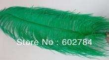 EMS Free shipping Ostrich Feathers green 60-65cm 24-26 inches ostrich drab feather for wedding center pieces