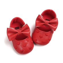 Bebe PU Leather Baby Boy Girl Baby Moccasins Moccs Shoes Bow Fringe Soft Soled Non-slip Footwear Crib Shoes A