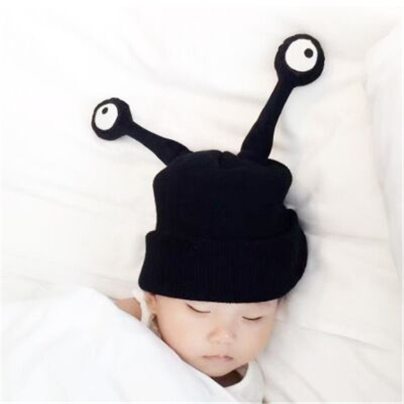 2016 Funny eyes hats for children knit cap baby winter hats Braid hat  Beanies wholesaleÎäåæäà è àêñåññóàðû<br><br><br>Aliexpress