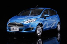 Diecast Car Model New Ford Fiesta 1:18 (Blue) + SMALL GIFT!!!!!!!!!