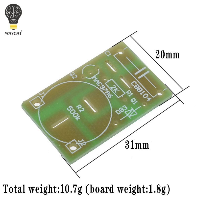 100W Dimmer Module DIY Kit with Switch Potentiometer Speed Regulation Module for Arduino Electronic Suite laboratory