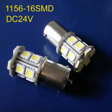 High quality 24V(DC10-30V) BA15s P21W PY21W R5W 1141 1156 Led Car bulb light lamp,Truck led 24V lamps free shipping 5pcs/lot(China)