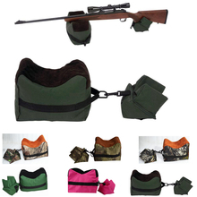 Hunting Gun Accessories Unfilled Dead Shot Front & Rear Shooting Bag Gun Shooting Rest Rifle Shotgun Target Tactical Bench Stand(China)