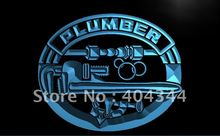 LK100- Plumber Tools Repairs Services   LED Neon Light Sign    home decor  crafts