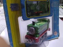 RARE METAL child boy gift Diecast THOMAS and friend The Tank Engine take along train- DUCK NIB(China)